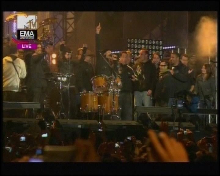 Linkin Park - The Live Best Act MTV EMA 2010 (MTV Russia)
