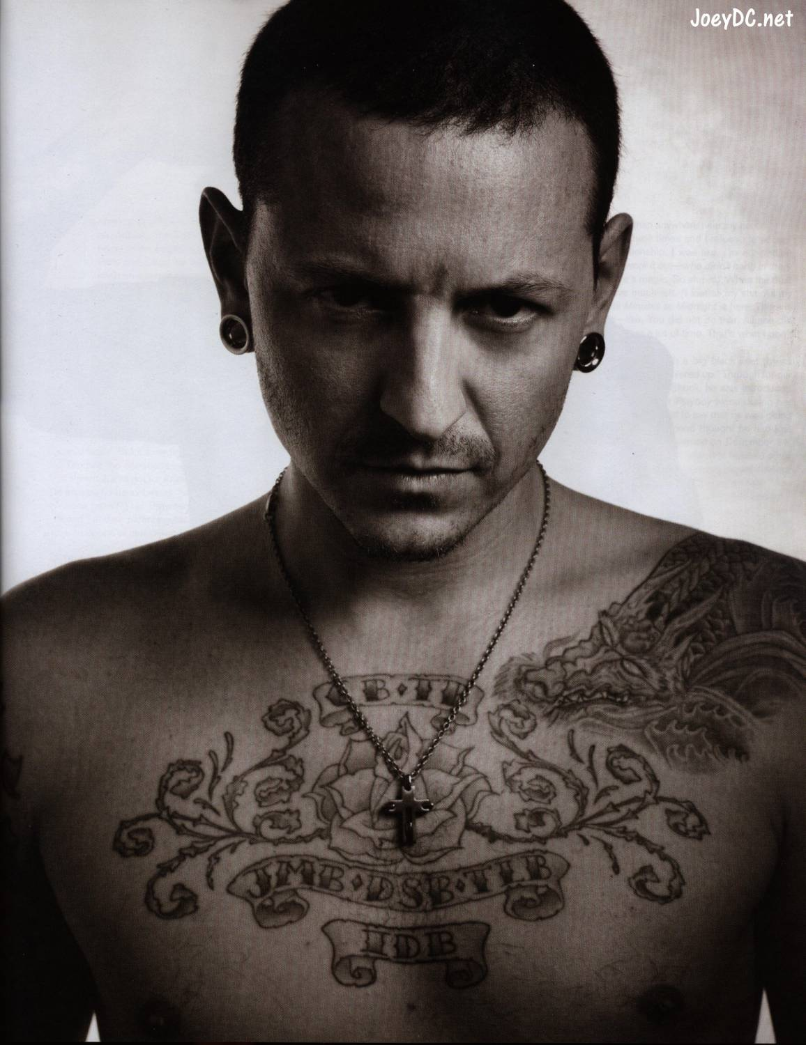 chester bennington young
