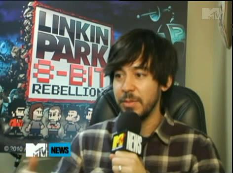 Mike Shinoda On MTV (8 Bit Rebellion Interview)
